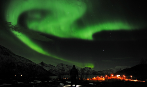 High chance of Northern Lights in Sweden skies