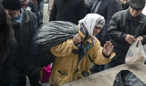 Romanians go hungry as mega-cathedral rises