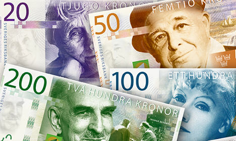 Sweden announces date for new bank notes