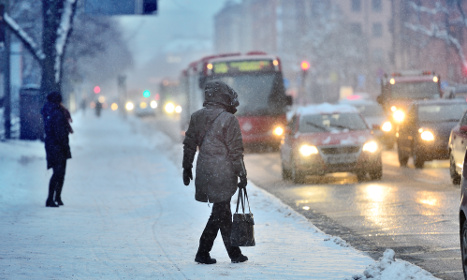 Major rail delays as Swedes return to work