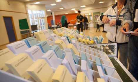 Ten million ballot papers on standby in Sweden
