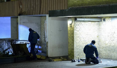 Teenager arrested over Malmö bomb