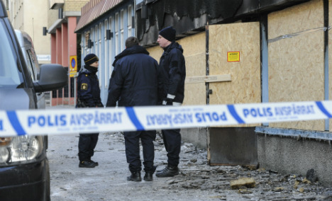 No breakthrough for police after mosque fire