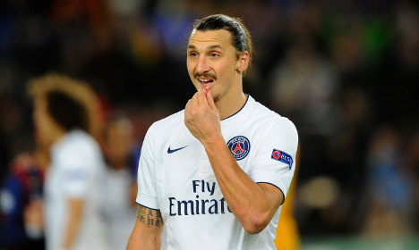 Zlatan teams up with Dressman clothing chain