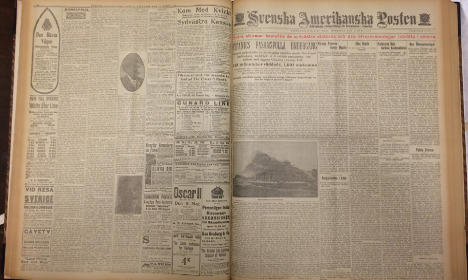 US-Swedish newspaper archive nears completion