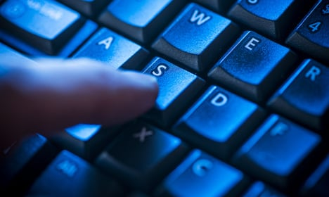 Cyber attack on Swedish Parliament's website