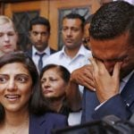 """Ami Denborg and her brother Anish Hindocha react after the verdict is delivered. They say """"justice has failed us."""" Photo: AP Photo/Schalk van Zuydam"""