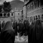 3rd place, Open Class. Greece, near the Bulgarian border, late spring 2014. High up in the mountains nuns gather. Despite the economic crisis, the country has just completed the construction of a new church. Photo: Johanna Henriksson (Frilans)/Årets Bild