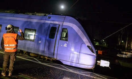 West Sweden faces rush hour chaos after storm
