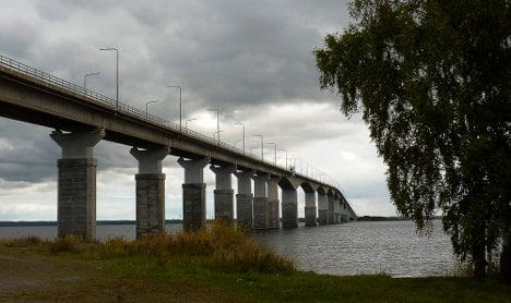Grenade and 'Russian flares' on Swedish island
