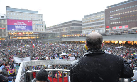 Stockholm Charlie rally breaks winter 'record'