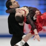 Anna Cappellini and Luca Lanotte, Italy,  during the Ice Dance/Short Dance competition on January 28th.Photo: TT