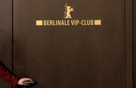 The Berlinale VIP section at the Grand Hyatt Hotel in Berlin. Photo: DPA