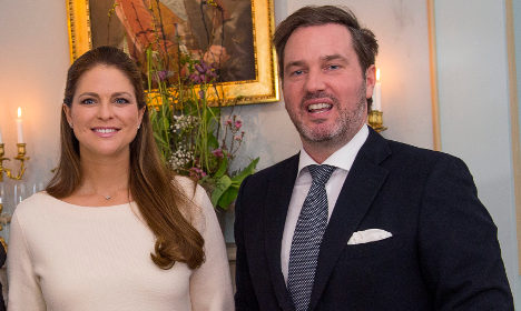 Princess couple set to stay in Sweden