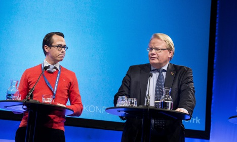 Sweden and Finland in joint military 'war' plan