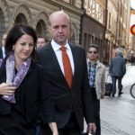 In February 2015, Fredrik Reinfeldt revealed he was datig his former press officer Roberta Alenius. The pair are pictured here in 2009.Photo: TT