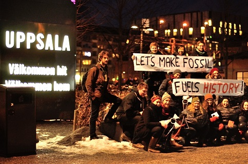 NFGL students participate in Global Divestment Day