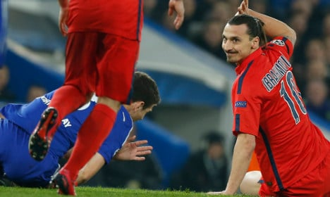 Zlatan handed ban over Chelsea match red card