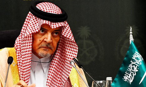 Saudi rejection 'a punch in the nose' for Sweden