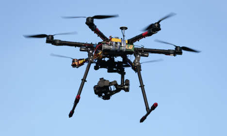 Drones tested by police forces across Sweden