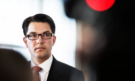 Sweden nationalist boss to announce 'sad' news