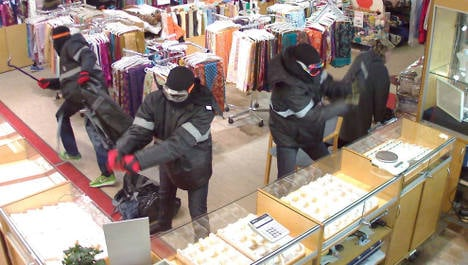 Seven Swedes charged for Oslo gold heist