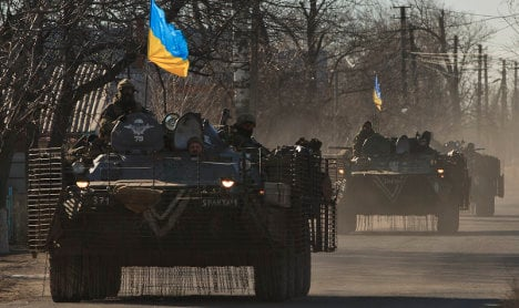 Claims Left sent money to pro-Russian rebels