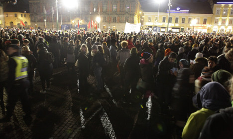 Anti-racists set to swamp Pegida rally in Sweden