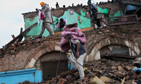 Swedes join earthquake rescue efforts in Nepal
