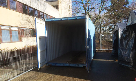 Swedish students to live inside steel containers