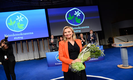 Christian Democrats elect first female leader