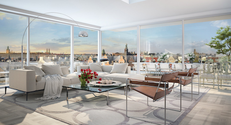 Need more space? Check out Sweden's priciest flat