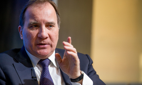 Rocky six months for new Swedish PM Löfven