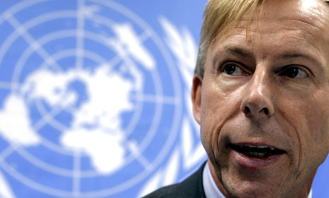 Swedish UN worker in French troop abuse row