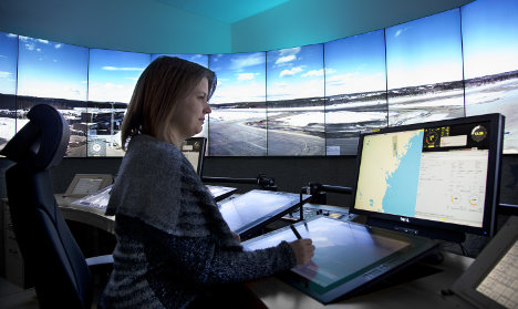 Sweden opens first remote control air tower