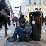 One in two Swedes want to ban begging: poll
