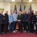 Swedish police officers praised by New Yorkers