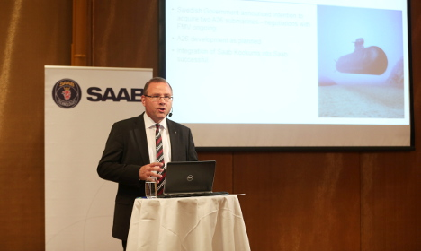 Defence giant Saab sees surprise fall in profits