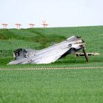 Two pilots eject from Swedish-made fighter jet