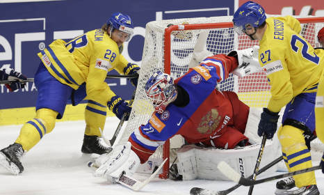 Sweden crash out of Ice Hockey World Cup