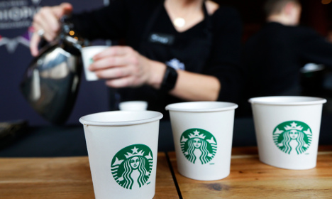 Swedish Spotify teams up with US cafe chain