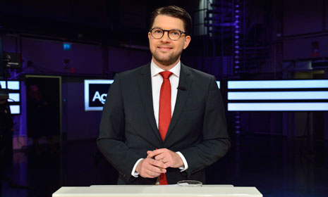 Sweden Democrat support at record high