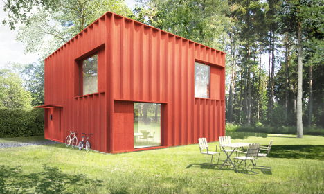 Two million Swedes design 'house of clicks'