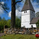 Ingrid Ylva, said to be a white witch, ordered the tower built at Bjälbo Church - and rumour has it she is still buried in its walls.Photo: Solveig Rundquist/The Local