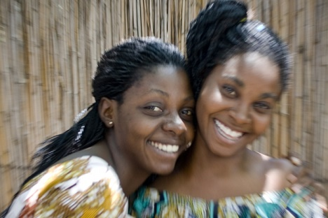 Woman to woman: A different image of the women of the Congo