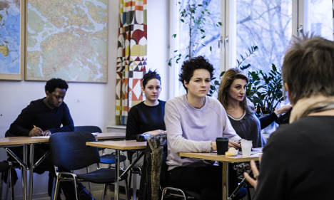 Asylum seekers face 'years' without Swedish