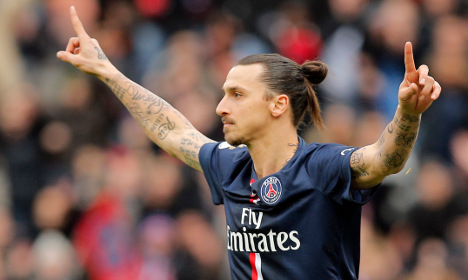 Zlatan makes comeback after 'France is sh*t' ban