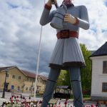 The most peculiar thing about the little town of Skänninge is this statue in the main square, of a legendary German man called Ture Lång. Photo: Solveig Rundquist/The Local