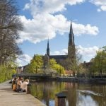 Students relaxing in Uppsala.Photo: Beir Bear