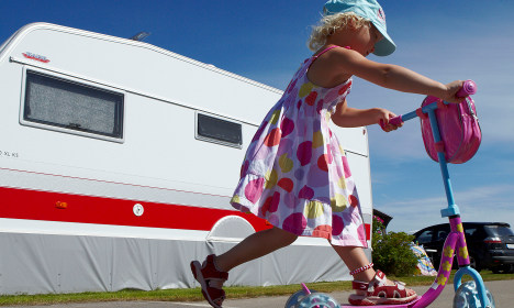 Record bookings boost at Swedish camp sites
